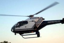 Austin receives third police helicopter