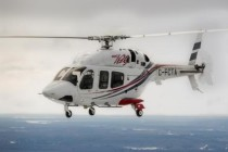 Trio of Bell Helicopters at LABACE 2015