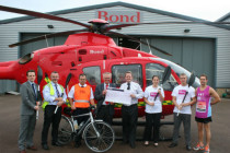 Bond Air Services raises over £5000 for cancer charity