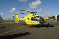 American Eurocopter displays EC135 and EC145 transport conference