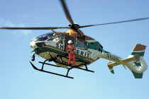 American Eurocopter showcases EC135 at police conference