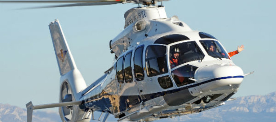Eurocopter delivers second EC155 B1 to Dalian Police