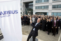 EADS is re-branded as Airbus Group