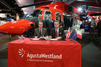 Brazil's OHI Group orders nine AgustaWestland helicopters