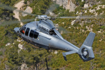 Brazilian company takes delivery of an EC155