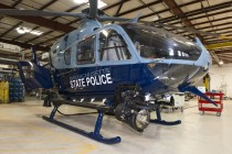 Metro Aviation delivers EC135 to State Police