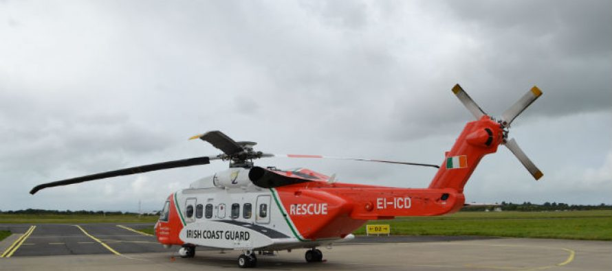 Irish Coastguard S92 crashes with four on board