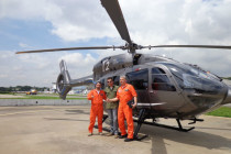Airbus Helicopters half way through H145 demo tour