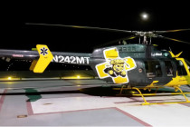EagleMed to fly helicopter in WSU Shocker livery