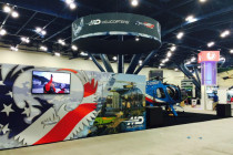 MD Helicopters showcases Houston Police MD 500E at ALEA 2015
