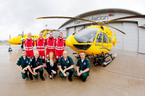 Scottish Air Ambulance will take two new H145s next month