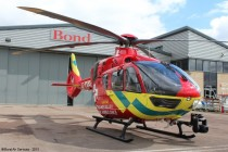 Thames Valley Air Ambulance first H135 helicopter