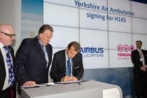 Yorkshire Air Ambulance signs for H145