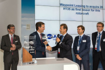 Waypoint Leasing acquires 20 H135 helicopters