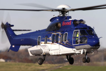 Milestone delivers Omni H225 to Bond Offshore Helicopters