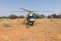 Bell 407GT used to tackle Rhino Poachers in South Africa