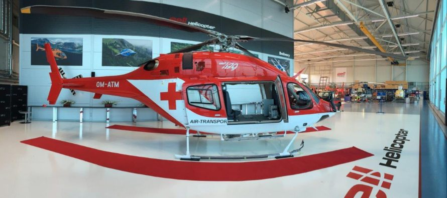 Bell delivers first HEMS 429 to China