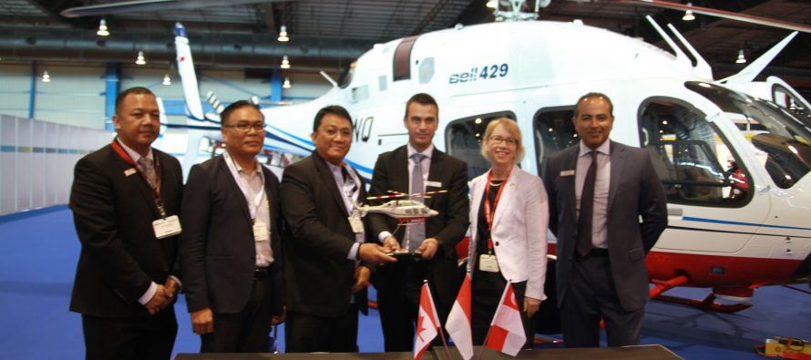 Bell delivers two 429s to PT. Carpediem Mandiri