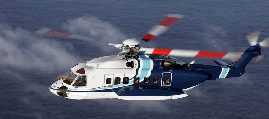 Waypoint delivers two Sikorsky's to Omni