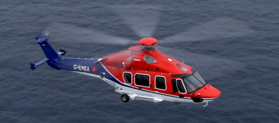 CHC H175 completes inaugural flight