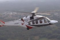 New engine option AW189 launched at Helitech 2017