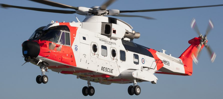 Leonardo starts delivery of 16 AW101s to Norway