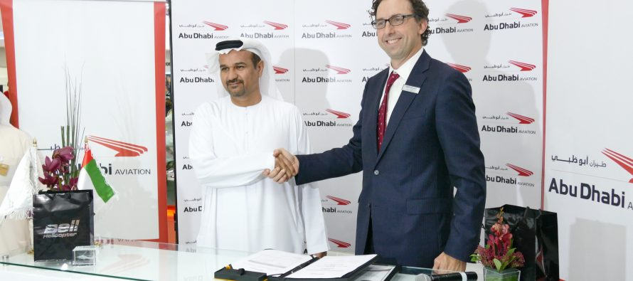 Bell helicopter approves Abu Dhabi Aviation as authorised service facility