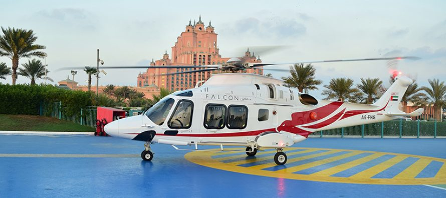 Falcon Aviation adds three more AW168s to its fleet