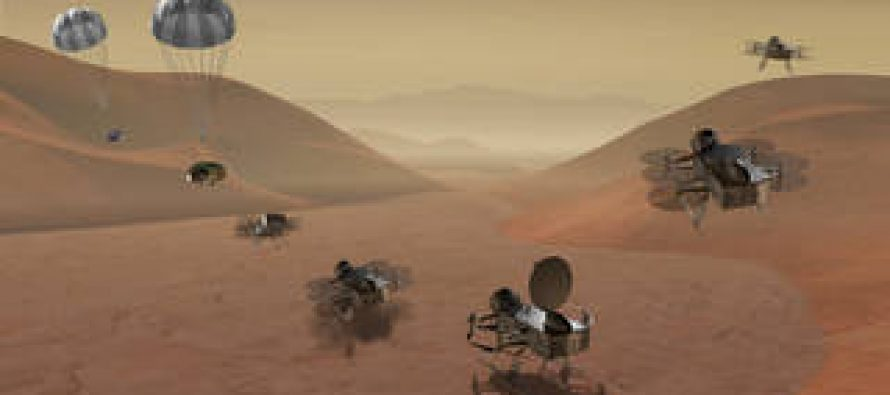 Nasa funds project to send helicopters to Titan