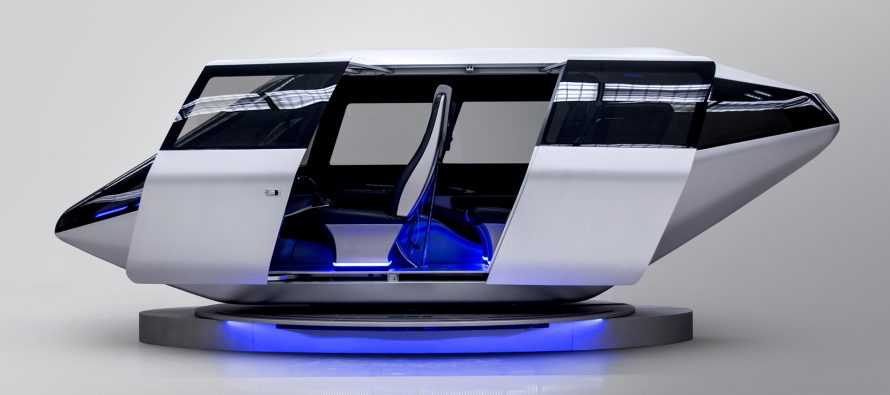 Bell reveals air taxi cabin at CES