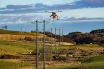Erickson completes its first transmission line project in UK