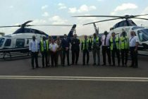 Leonardo helicopter fleet grows in Rwanda with delivery of two AW119Kx