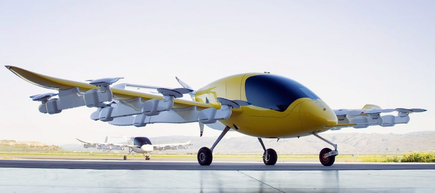 Kitty Hawk reveals new Cora air taxi