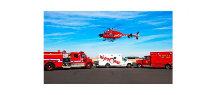 Med-Trans opens new AeroCare VIII helicopter base in Plainview, Texas