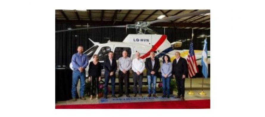 Metro Aviation delivers Airbus H125 to Jujuy Province in Argentina