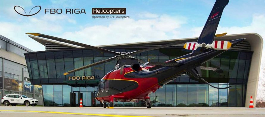 FBO RIGA expands to include helicopter charters
