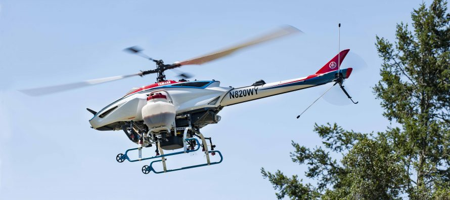Yamaha certifies new UAV helicopter
