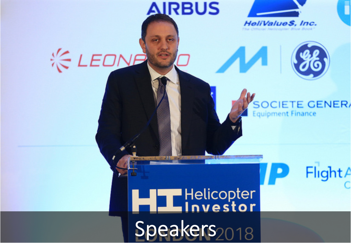 Speakers – Helicopter Investor