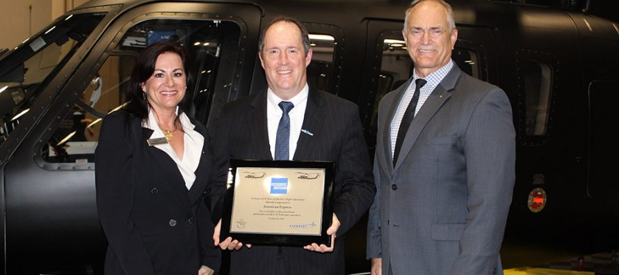 Sikorsky operator marks safe flight milestone with S76 helicopters