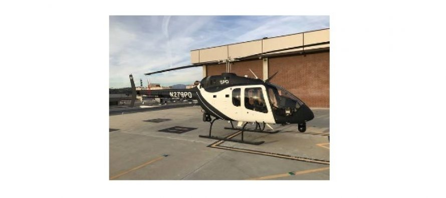 Bell delivers first law enforcement configured Bell 505 Jet Ranger X to Sacramento Police