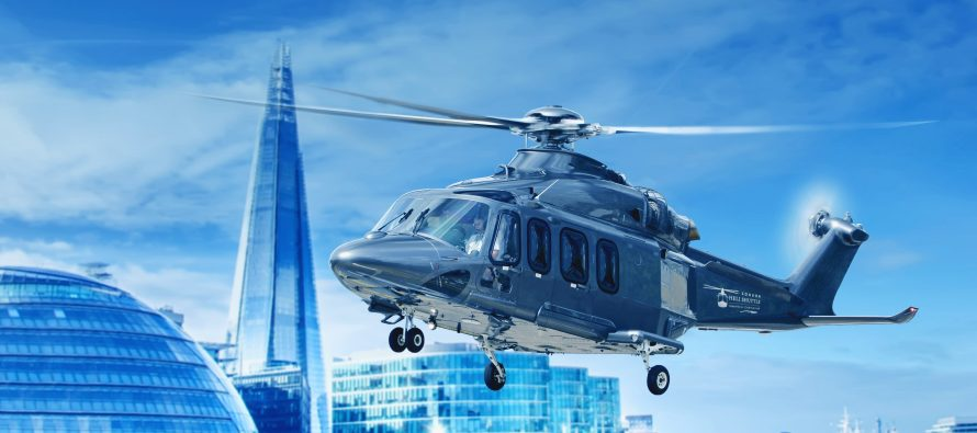 New AW139 for Heli Shuttle at London Biggin Hill Airport