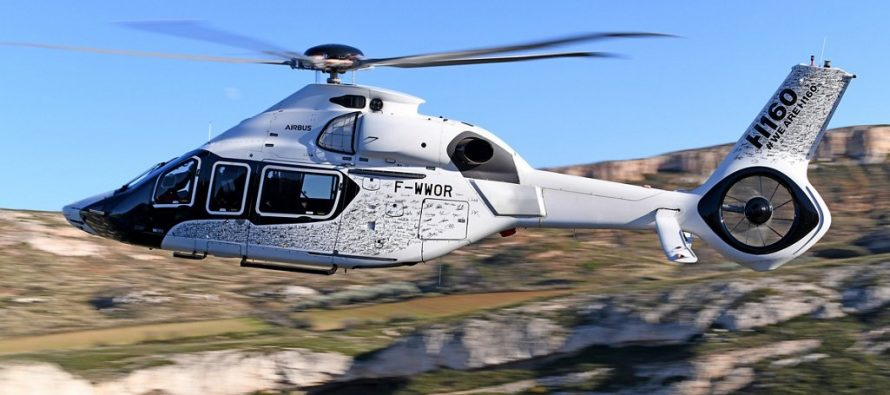 Maiden flight for Airbus Helicopters new H160.